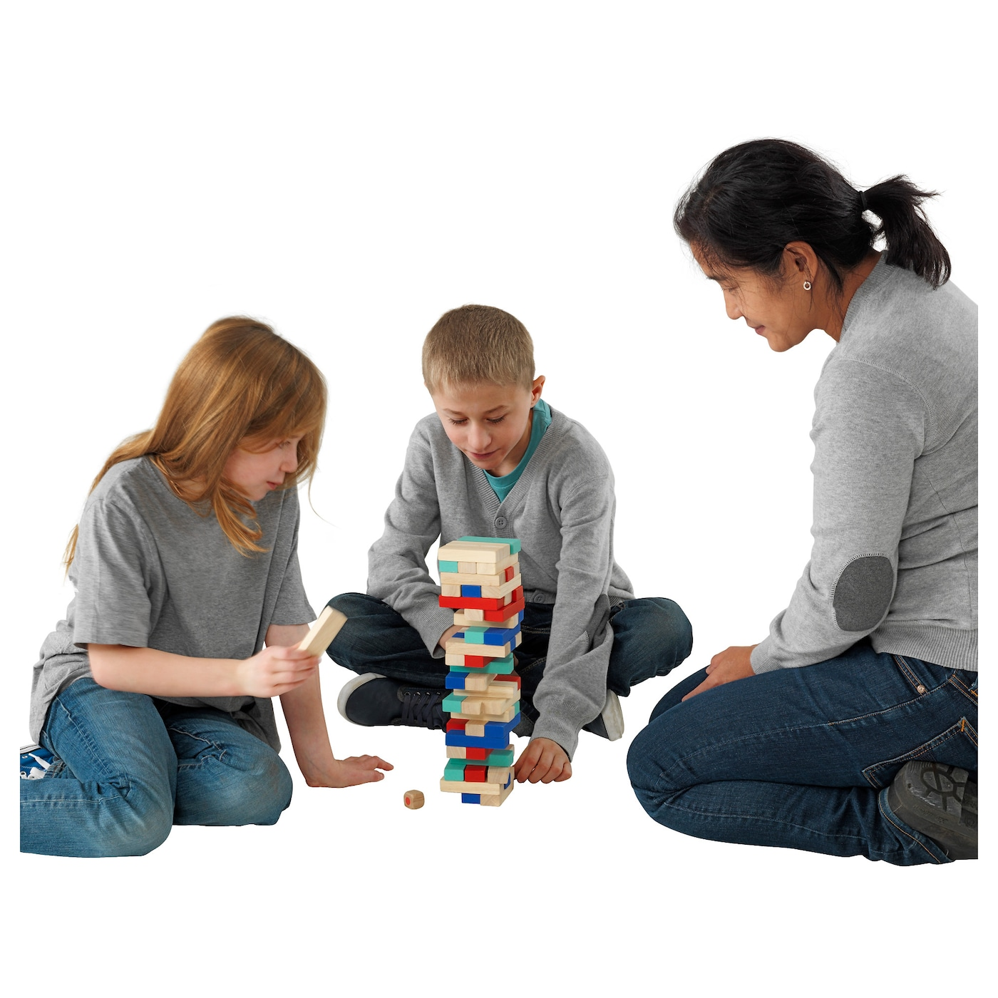 IKEA LATTJO stacking game Helps the child develop fine motor skills and hand/eye co-ordination.