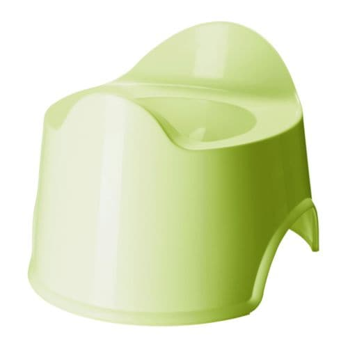 LÄTTSAM Children's potty, green