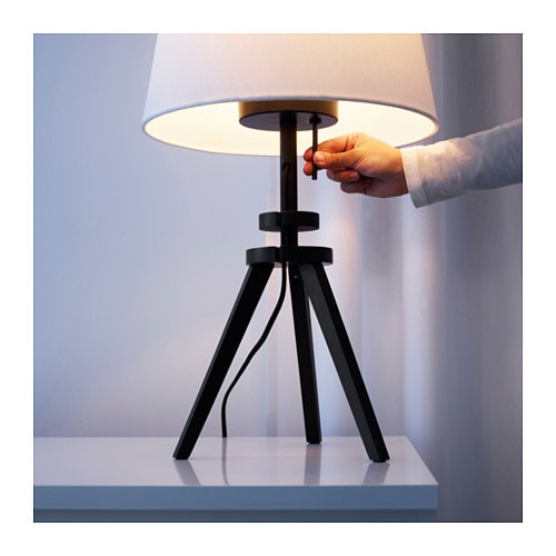 lauters table lamp base brown 45 cm ikea. Black Bedroom Furniture Sets. Home Design Ideas