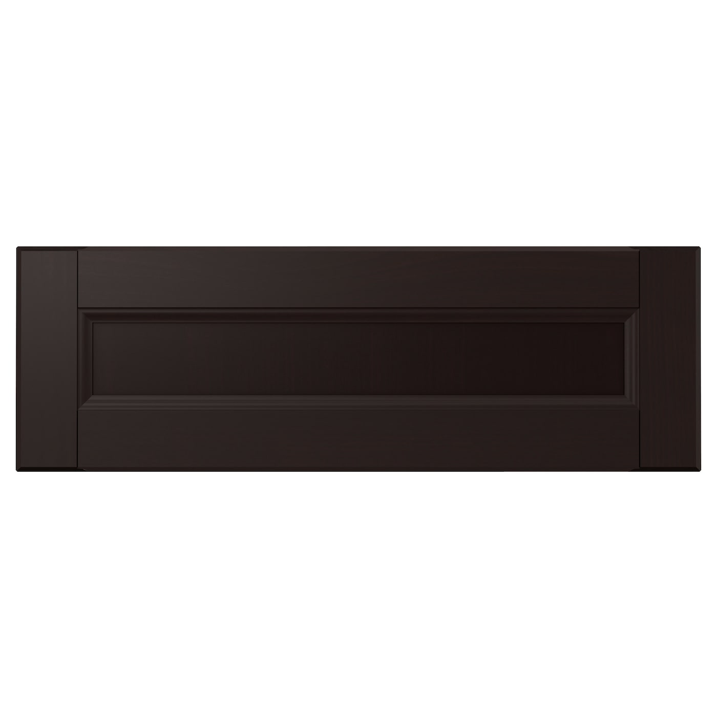 Kitchen Cabinet Door Fronts: LAXARBY Drawer Front Black-brown 60x20 Cm
