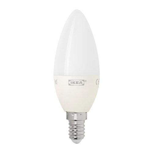 ... IKEA LEDARE LED bulb E14 400 lumen ...