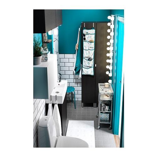 LEDSJÖ LED wall lamp Stainless steel 60 cm  IKEA -> Wandleuchte Led Ikea