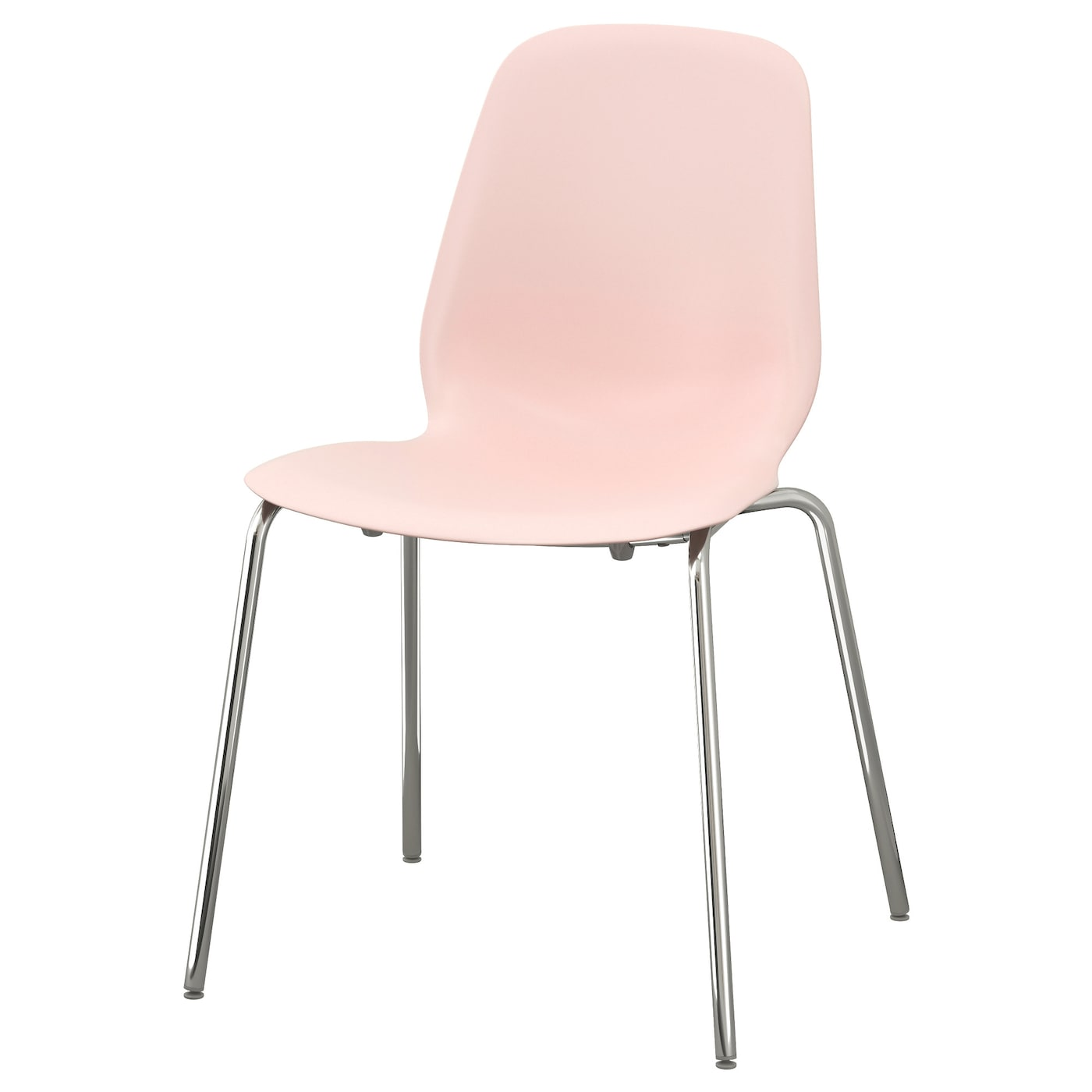 leifarne chair pink broringe chrome plated ikea. Black Bedroom Furniture Sets. Home Design Ideas