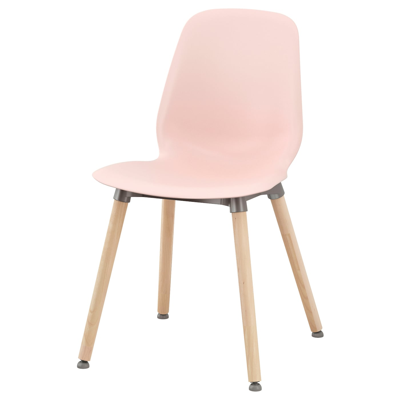 Leifarne chair pink ernfrid birch ikea for Table et chaise ikea