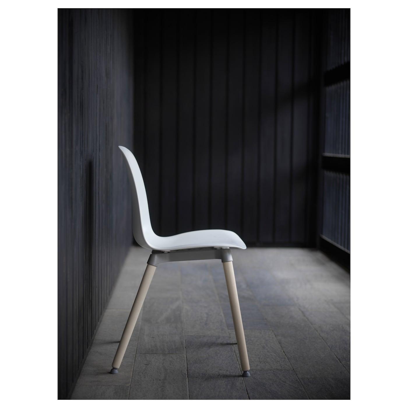 LEIFARNE Chair White Ernfrid Birch IKEA