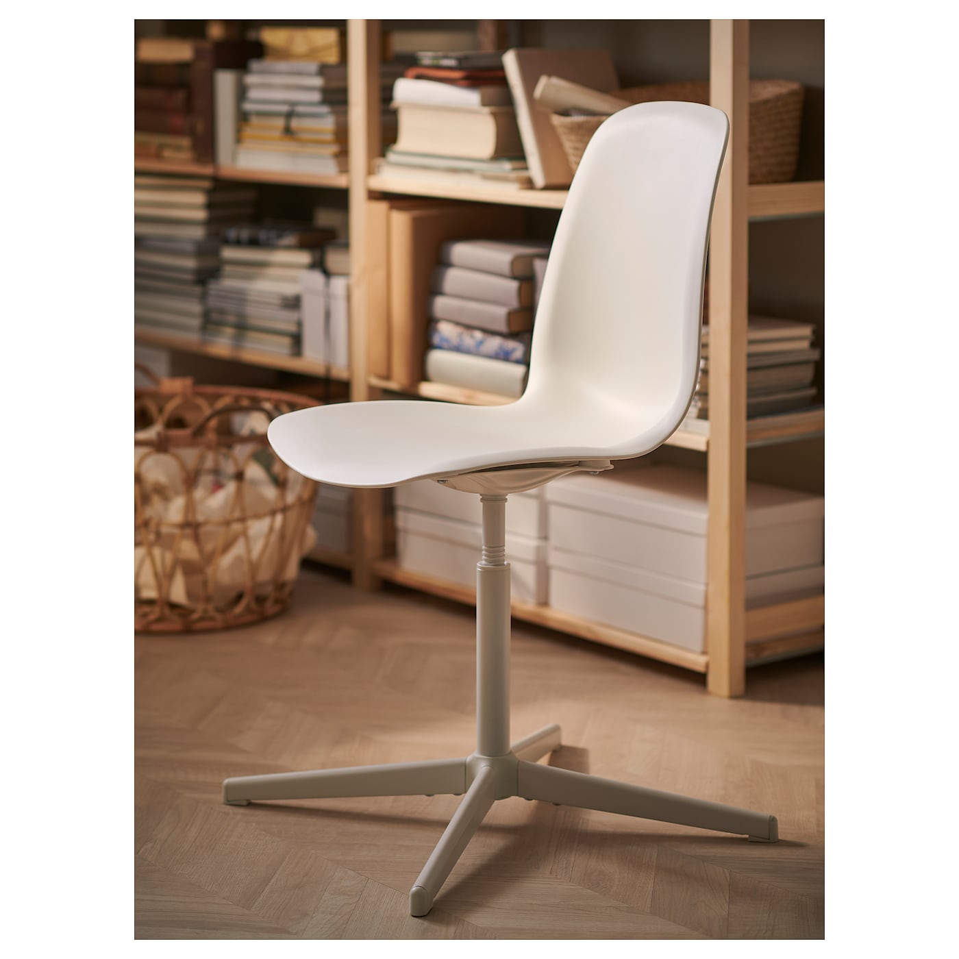 Balsberget white, Swivel chair IKEA