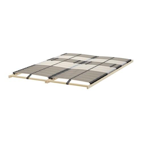 leirsund slatted bed base 140x200 cm ikea. Black Bedroom Furniture Sets. Home Design Ideas