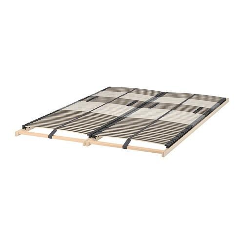 LEIRSUND Slatted bed base Standard Double - IKEA