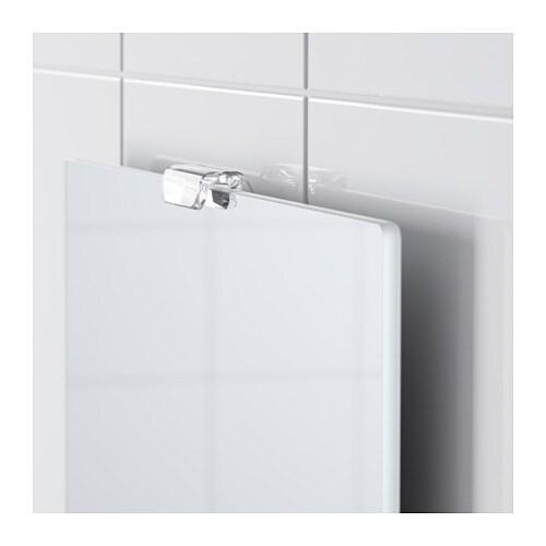 Ikea Bathroom Mirror Light: LEJEN Mirror With Shelf White 25x61 Cm