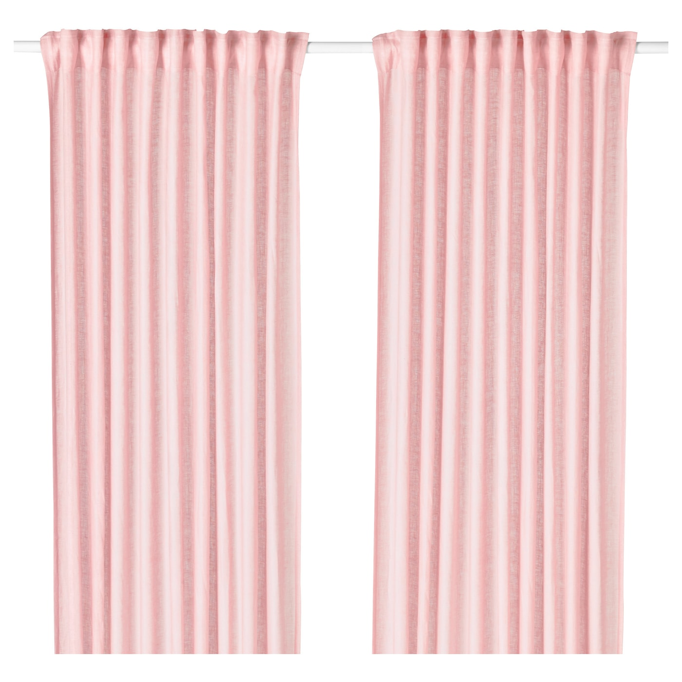 Childrens pink curtains 66 72 curtain menzilperde net for Ready made blinds ikea