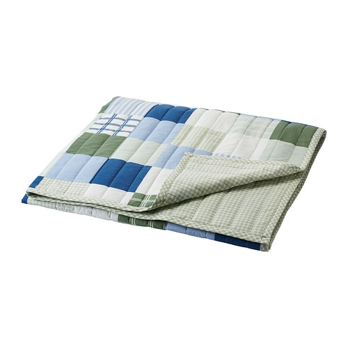IKEA LEKANDE bedspread Cotton, soft and nice against your child's skin.