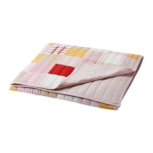 LEKANDE Bedspread IKEA Cotton, soft and nice against your child's skin.