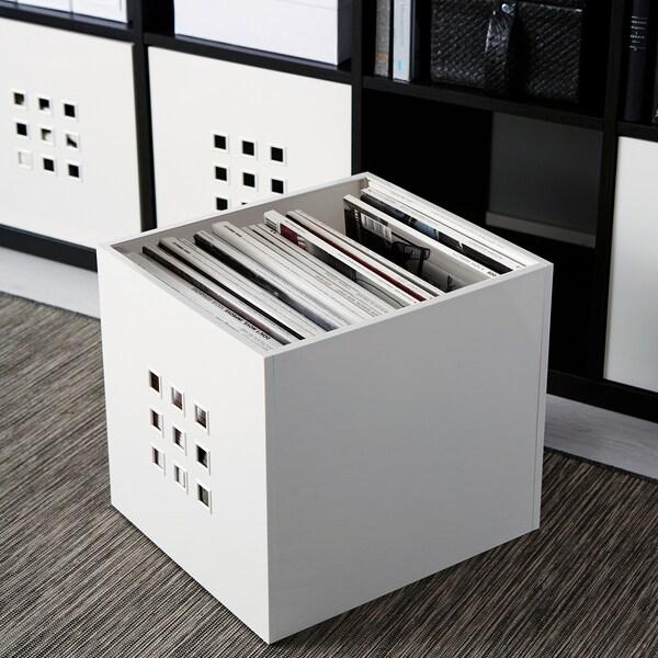 LEKMAN box white 33 cm 37 cm 33 cm