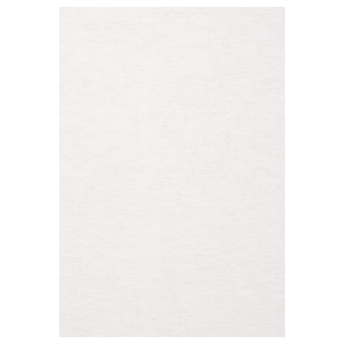 Ikea Rug Felt: LENDA Fabric White 150 Cm