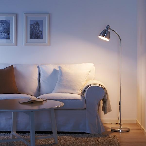 LERSTA Floor/reading lamp, aluminium