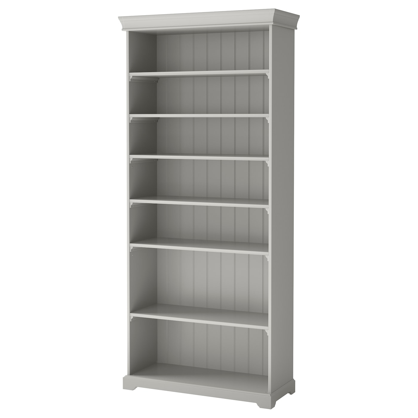 Liatorp bookcase grey 96x214 cm ikea for Ikea wooden bookshelf