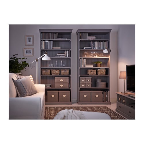 Ikea Liatorp Bookcase The Shelves Are Adjule So You Can Customise Your Storage As Needed