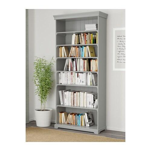 LIATORP Bookcase Grey 96×214 cm IKEA