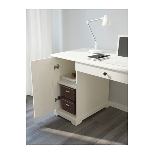 Ikea Kitchen Desk: LIATORP Desk White 145x65 Cm