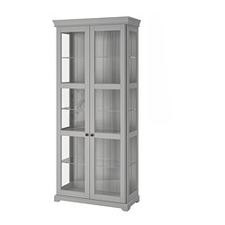 Ikea Liatorp Gl Door Cabinet 2 Fixed Shelves For High Ility