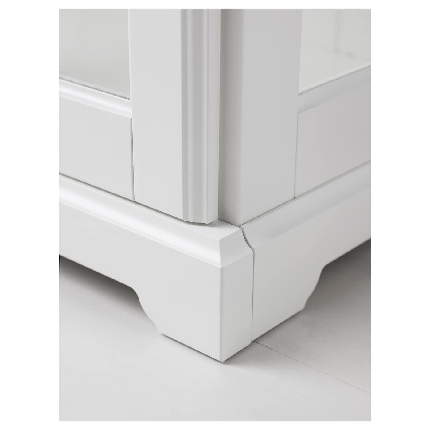 liatorp glass door cabinet white 96 x 214 cm ikea. Black Bedroom Furniture Sets. Home Design Ideas