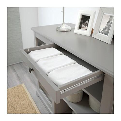 LIATORP Sideboard Grey 145×87 cm  IKEA