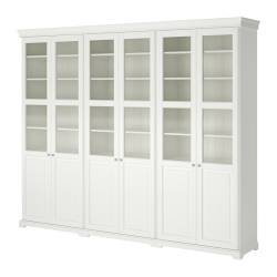 Ikea Liatorp Storage Combination With Doors 2 Fixed Shelves Provide Increased Ility