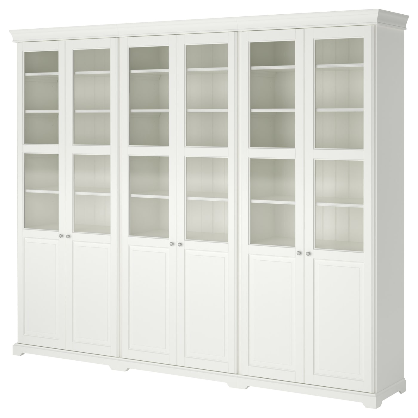 liatorp storage bination with doors white 276x214 cm ikea