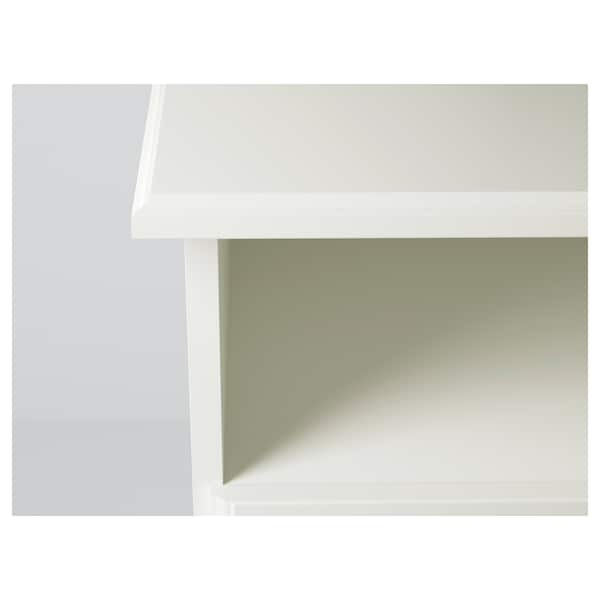 LIATORP TV bench, white, 145x49x45 cm