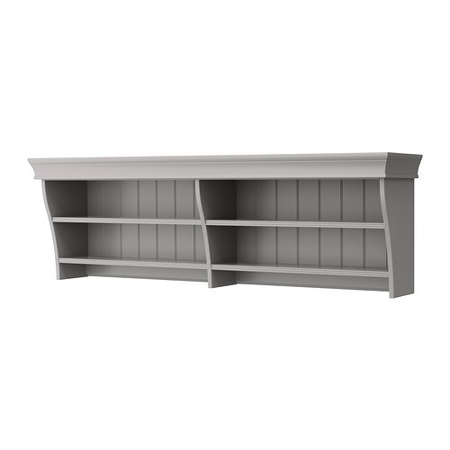LIATORP Wall/bridging shelf IKEA You can use the wall/bridging shelf separately or create a holistic solution with side storage and a TV bench.