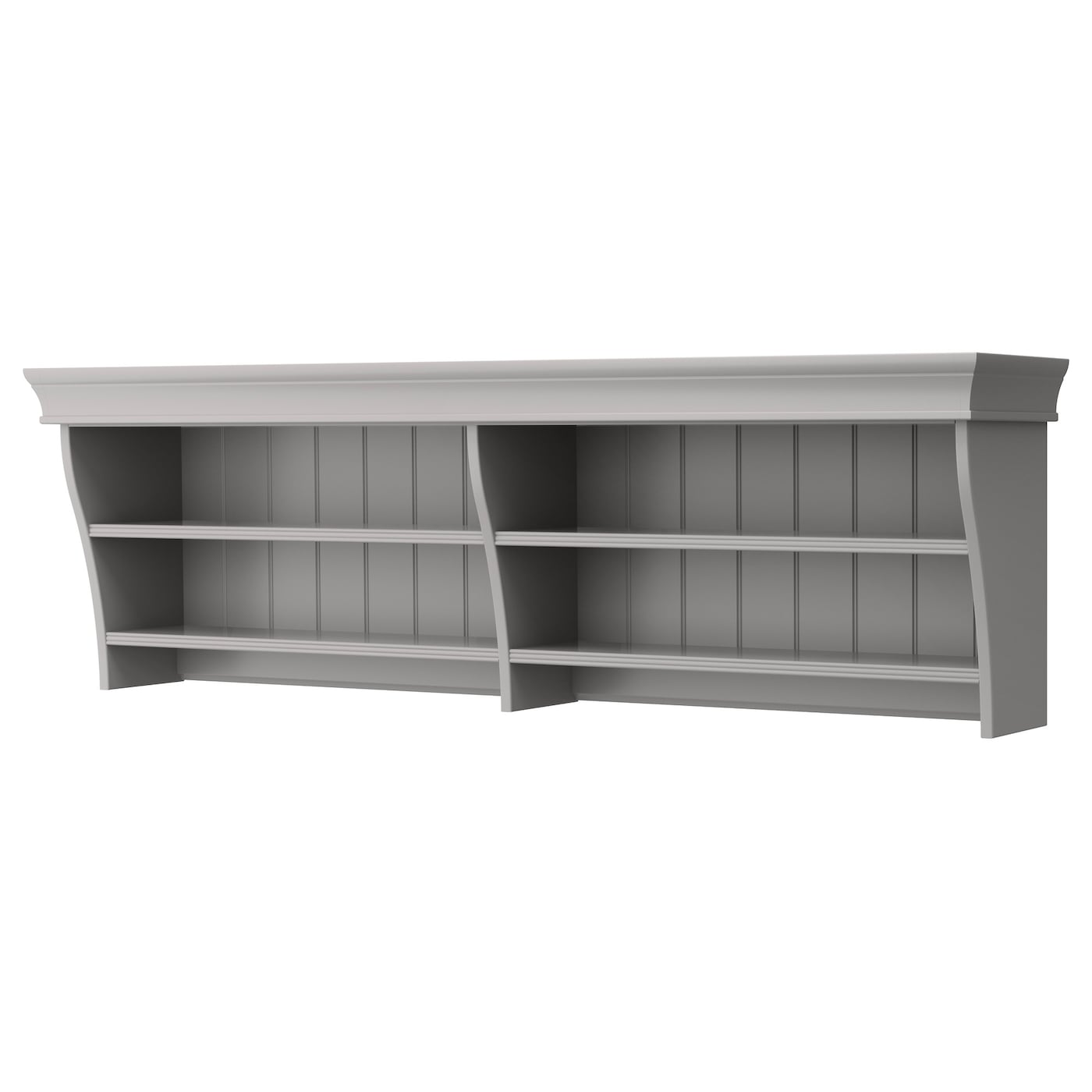 liatorp wall bridging shelf grey 152x47 cm ikea. Black Bedroom Furniture Sets. Home Design Ideas