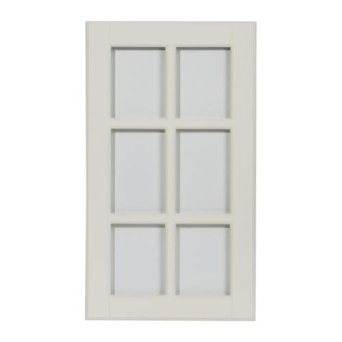 LIDINGÖ Glass door IKEA The door can be mounted to open from the left or right.