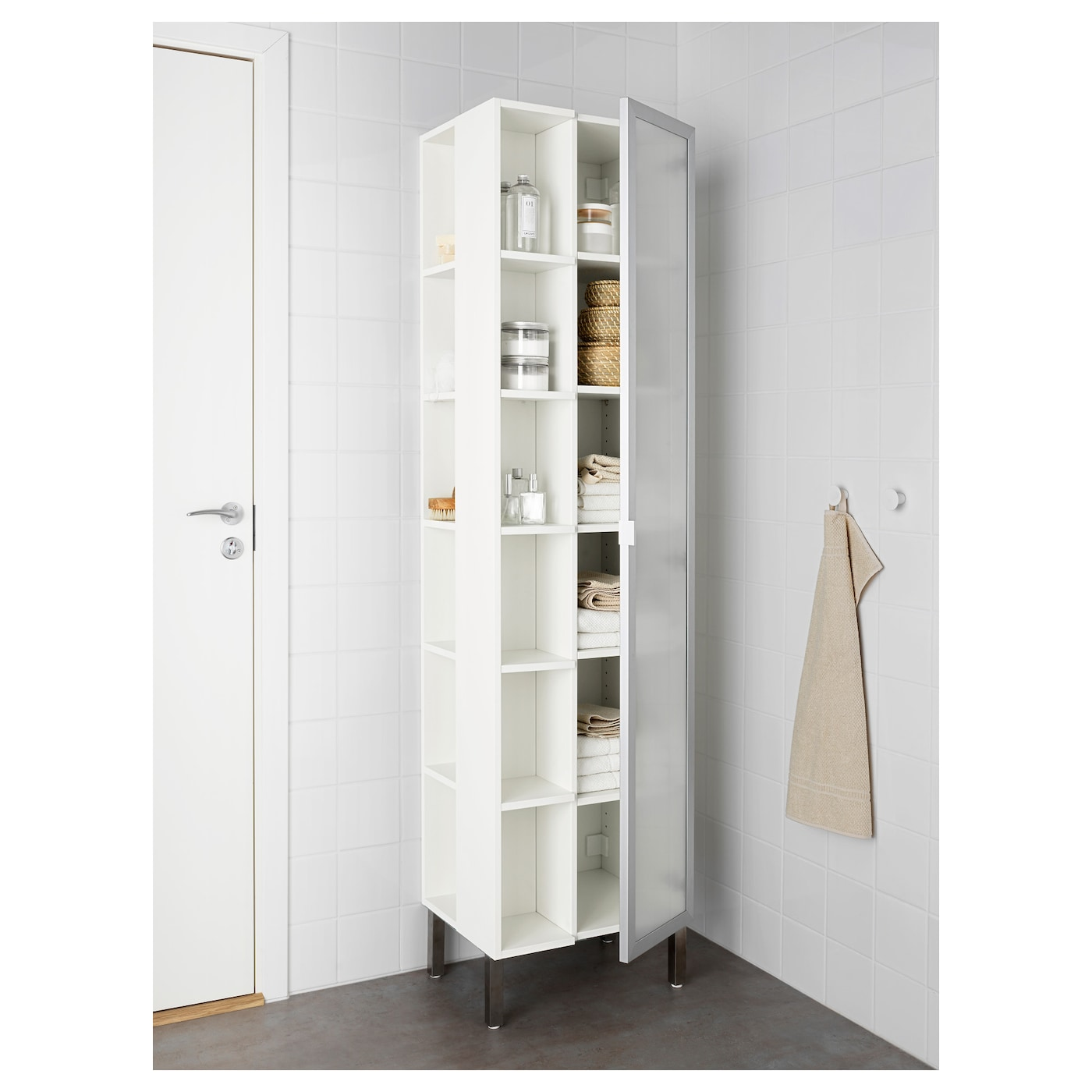 IKEA LILLÅNGEN high cabinet 1 door/2 end units