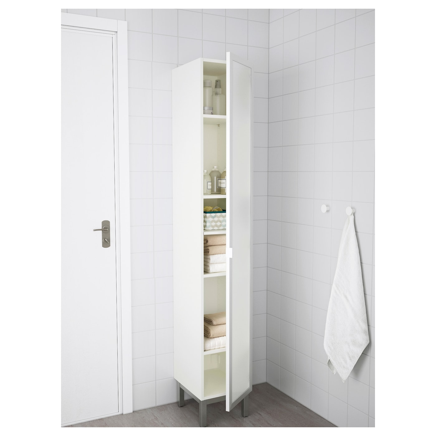 Ikea LillÅngen High Cabinet You Can Mount The Door To Open From Right Or Left