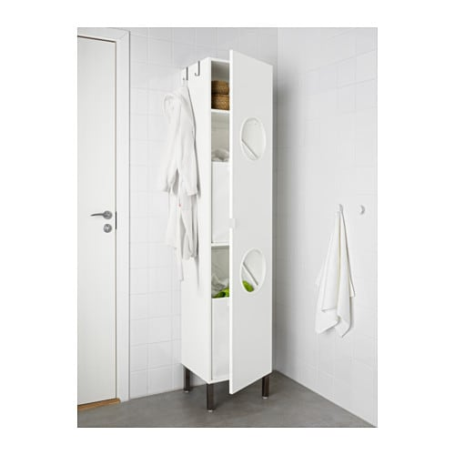 lill ngen laundry cabinet white 40x38x194 cm ikea. Black Bedroom Furniture Sets. Home Design Ideas