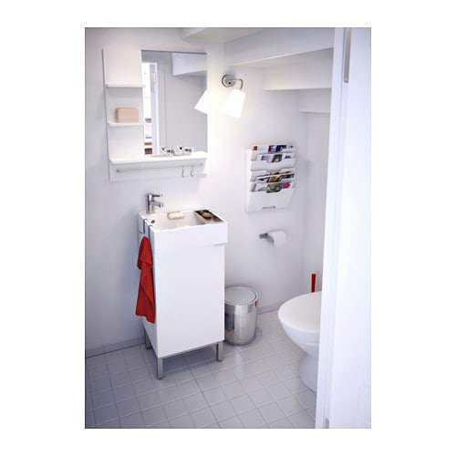 Ikea Badregal Lillangen ~ LILLÅNGEN Washbasin cabinet with 1 door White 40x38x64 cm  IKEA