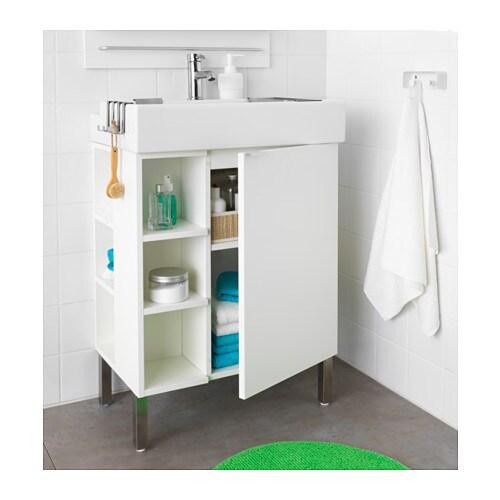 Used bathroom sinks - Lill 197 Ngen Washbasin Cab 1 Door 2 End Units White 60x41x92