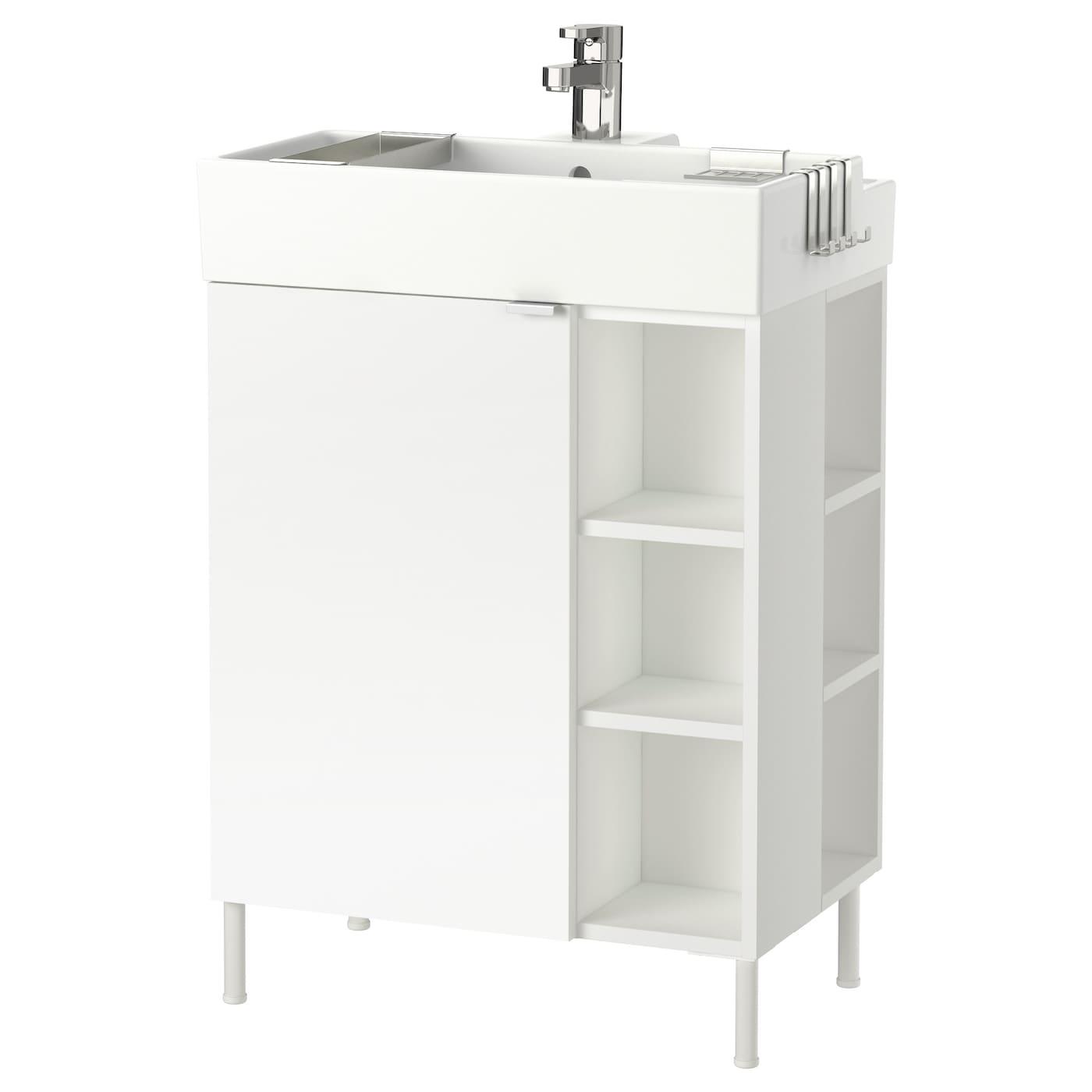 Bathroom washbasin cabinets - Ikea Lill Ngen Washbasin Cab 1 Door 2 End Units