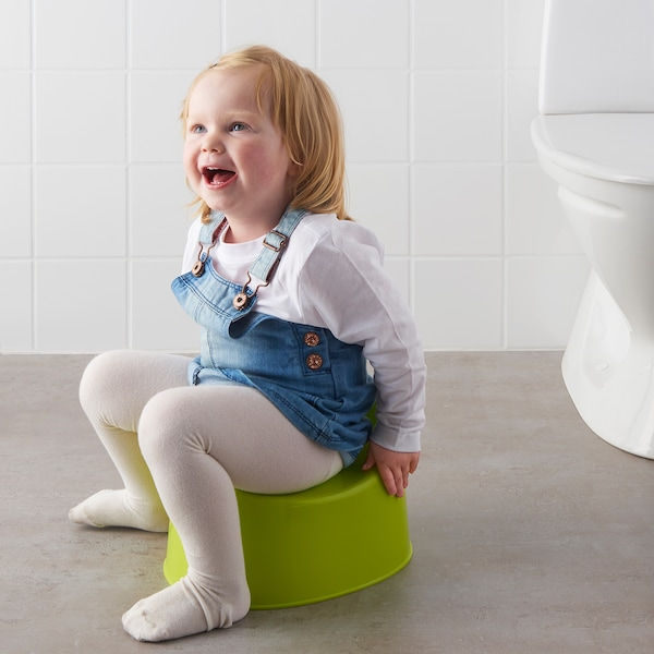 LILLA children's potty green 27 cm 24 cm 18 cm