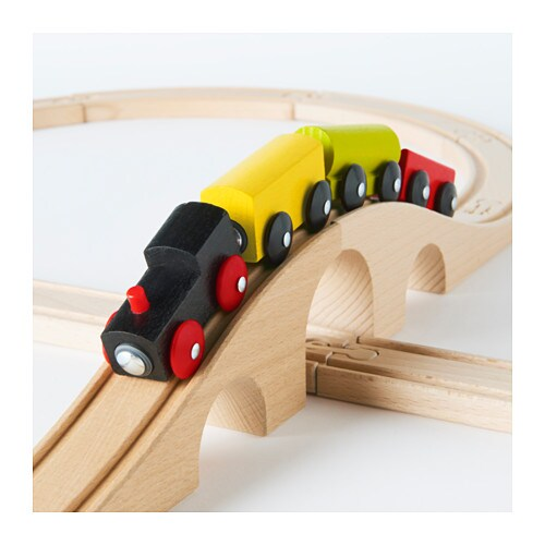 lillabo 20 piece basic train set multicolour ikea. Black Bedroom Furniture Sets. Home Design Ideas