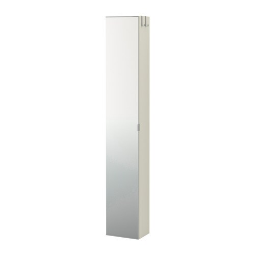 LILLÅNGEN High cabinet with mirror door IKEA Perfect where space is limited since the cabinet is shallow.