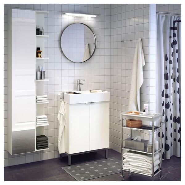 IKEA LILLÅNGEN High cabinet with mirror door