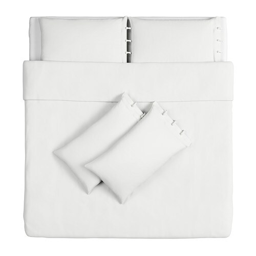 IKEA LINBLOMMA quilt cover and 4 pillowcases