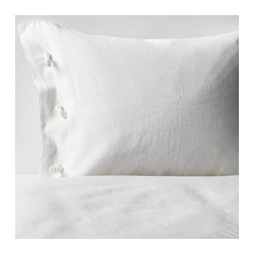 LINBLOMMA Quilt cover and 4 pillowcases IKEA
