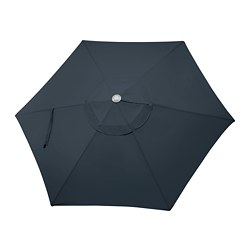 Ikea LindÖja Parasol Canopy The Strap With Buckle Keeps Fabric In Place When Folded
