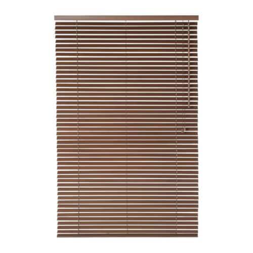 LINDMON Venetian blind , brown Length: 155 cm Slat width: 35 mm Width: 80 cm Area: 1.24 m²