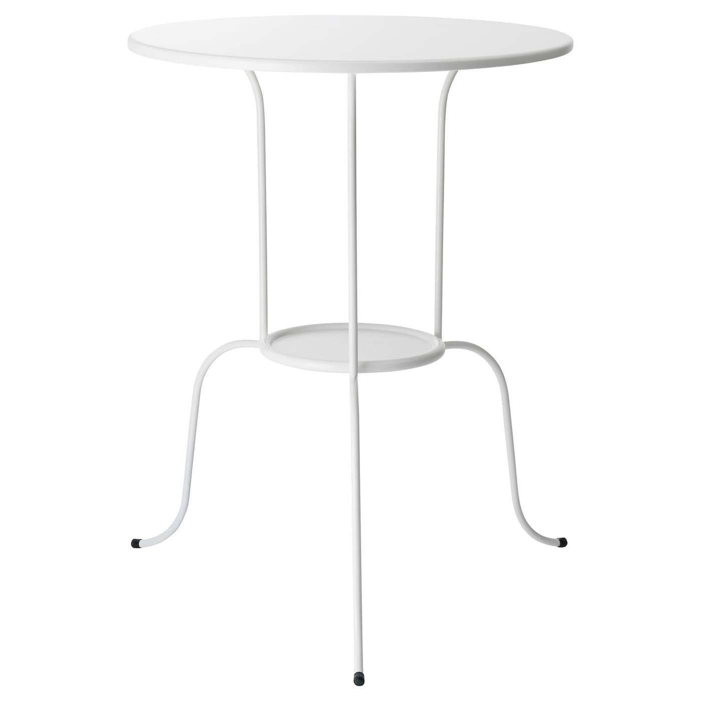 Lindved side table white 50x68 cm ikea for White end table