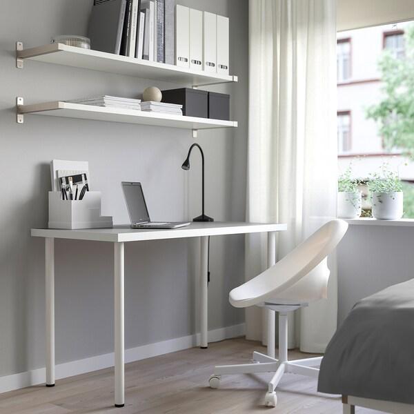LINNMON / ADILS table light grey/white 120 cm 60 cm 74 cm