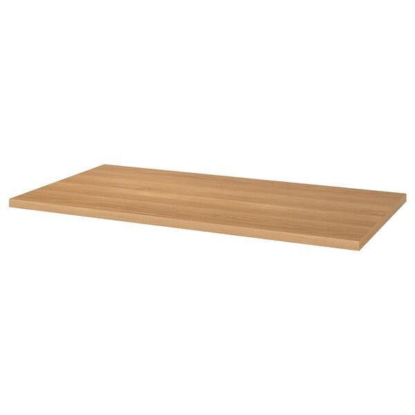 LINNMON Table top, oak effect, 150x75 cm