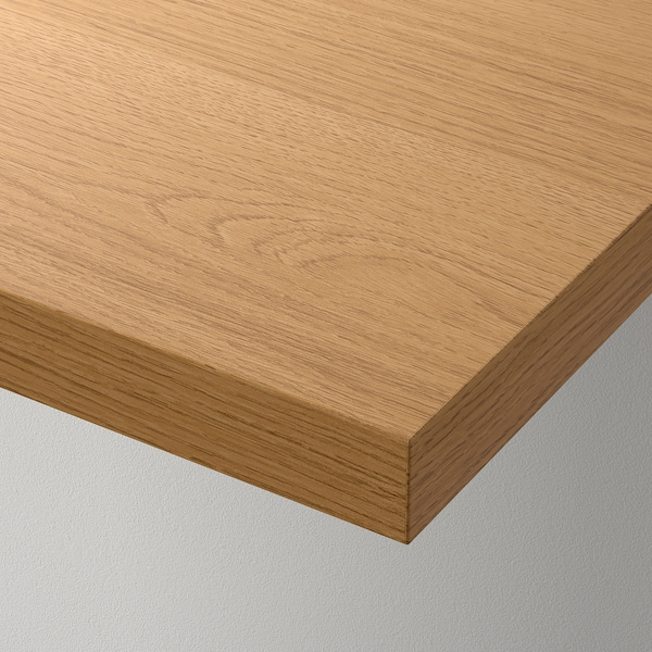 LINNMON Table top, oak effect, 120x60 cm